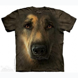 The Mountain - German Shepherd Adult Tee - SIZE L
