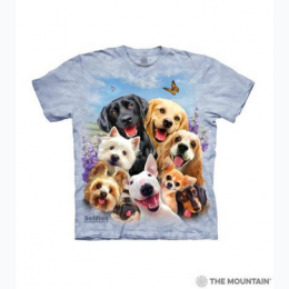 The Mountain - Dogs Selfie Toddler T-Shirt