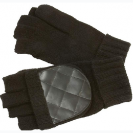 Casual Outfitters™ Men's Convertible Black Gloves/Mittens