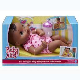 Baby Alive Luv n Snuggle Baby Doll - African American