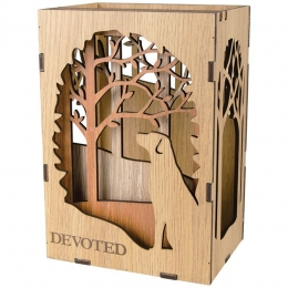 """Devoted"" Shadow Box"